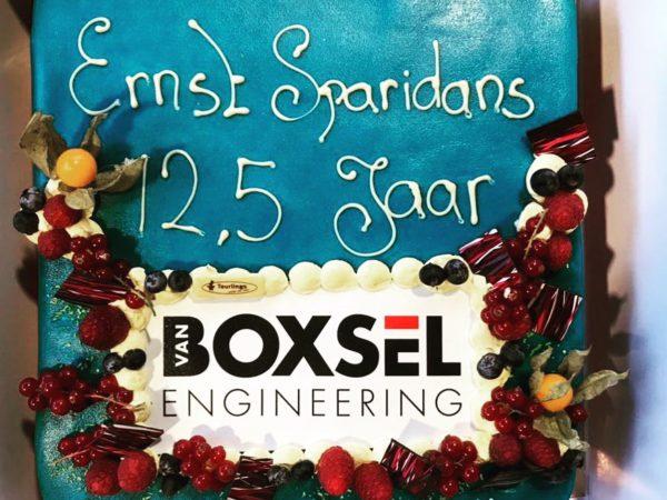 Ernst Sparidans 12,5 jaar bij Van Boxsel Engineering
