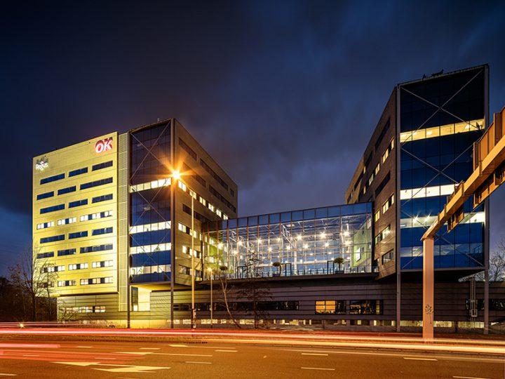 Nieuwe atrium Bond Towers in gebruik, Breda