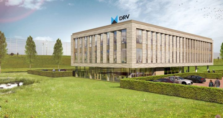 Nieuwbouw kantoor DRV, Ritmeesterpark, Breda