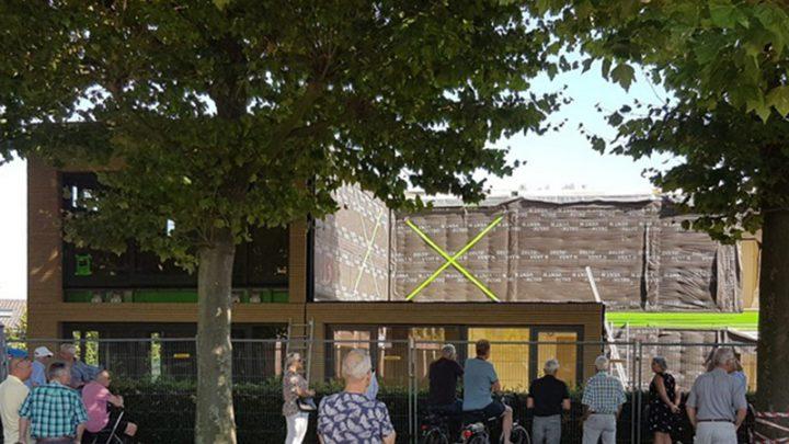 Modules aan de Markt te Prinsenbeek